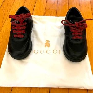 Gucci Toddler Leather Shoes